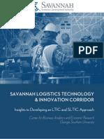 CBAER Logistics Technology Corridor Study Final