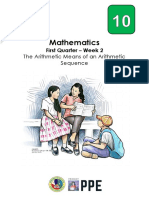 mathematics10_q1_melc3_thearithmeticmeansofanarithmeticsequence_v1