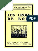 Les Croix de Bois - Roland Dorgelès
