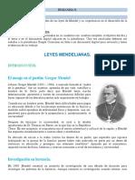 LEYES DE MENDEL.