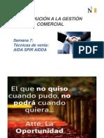 7ma Sesión - Tecnicas de Venta AIDA y SPIN.pdf