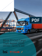 BSI and TT Club Cargo Theft Report 2020