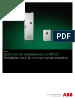 1TXH000432B0301_Brochure Batterie de condensateurs APCQ_FR