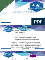 TÉCNOLOGIAS EMERGENTES