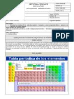 Tabla periodica (I.E. Andres Bello)