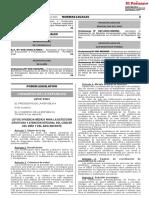 LEY Urgencia Medica Para Deteccion Oportuna y Atencion Ley Cáncer 31041