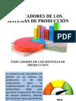 8. INDICADORES DE LOS SISTEMAS DE PRODUCCIÓN