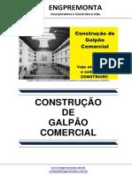 Construcao de Galpao Comercial