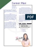 Jean Career Plan