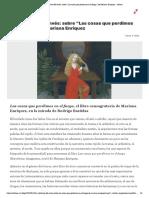 """La urdimbre del envés_ sobre """"Las cosas que perdimos en el fuego"""", de Mariana Enriquez – Afuera"""