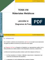 DIAGRAMAS DE FASE Y REACCION EUTECITA 2020