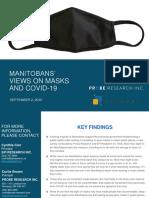 Probe Research - Manitobans' Views on Masks