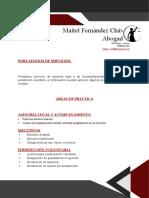 PORTAFOLIOS DE SERVICIOS
