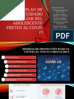 plan de cuidado familiar freten al COVID-19