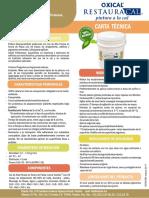 FICHA TÉCNICA PINTURA RestauraCAL OXICAL  v.03-2107 (1)