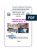 CARATULA DE DANZA 2019 B