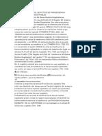 EL REGISTRO NOTARIAL DE ACTAS DE TRANSFERENCIA