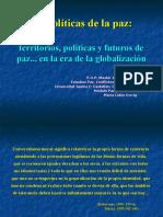 Geopolíticas d e la paz1