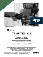 TEMP-TEC 332 ficha y certificado
