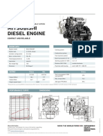 Mitsubishi - Commercial Spec Sheets - Industrial Engine - Variable Speed - S3L2-Z564SP