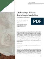 Chalcatzingo, México