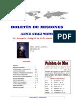 BOLETIN DE MISIONES 24-01-2011