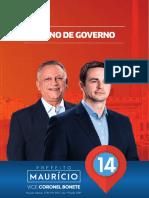 plano de governo Mauricio 2016