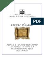 ESCOLA DOMINICAL2008