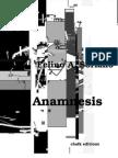 Felino A. Soriano - Anamnesis