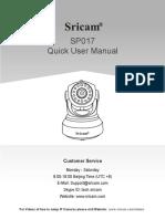 SP017 Quick User Manual