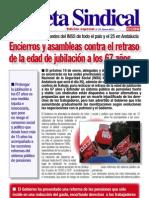Gaceta sindical Enero