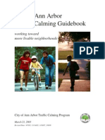 Ann Arbor Traffic Calming Guidebook