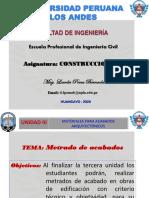 METRADOS DE ACABADOS