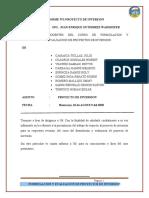 PROYECTO DE INVERSION- MERCADO CHUPACA