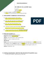 ENGLISH FINAL EXAM BASIC 10