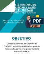ACTIVIDADES COPASST EN EL MARCO COVID-19