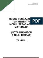 RPH Matematik (TMK) Tahun 1 KSSR