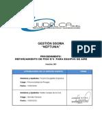 4. PROCEDIMIENTO DE TRABAJO-REFORZAMIENTO DE PISO N°8  PARA EQUIPOS DE AIRE