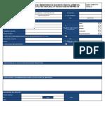 FORMATO 064 - Registro de Monitero de agentes ocupacionales