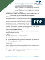 CLASE VI - SISTEMA DE COSTOS POR ÓRDENES ESPECÍFICAS