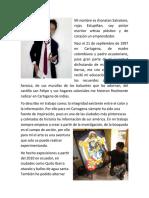 Mi Nombre Es Jhonatan Salvatore Rojas Estupiñan artista biografia
