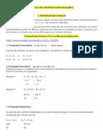 Información Area Matematicas