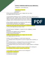 LISTA DE EXERCICIOS 3º PERIODO HISTOLOGIA MEDICINA