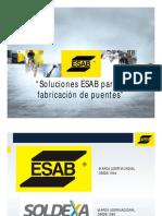 SOLUCIONES ESAB PARA LA FABRICACION DE PUENTES.pdf