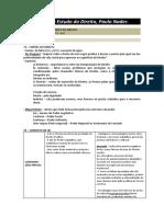 Fontes Do Direito - Paulo Nader em Introdução ao Estudo do Direito (BR)