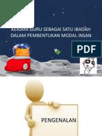 Copy of KERJAYA GURU SEBAGAI SATU IBADAH DALAM PEMBENTUKAN MODAL