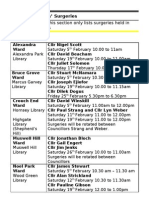 What's on in Haringey Libraries February 2011