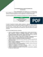 ACTA DE CONFORMACIÓN DEL COMITÉ DE SEGURIDAD VIAL