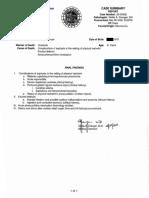 Medical Examiner's report on Daniel Prude