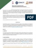 Convocatoria Becas Programas No Escolarizados 2020 VF1